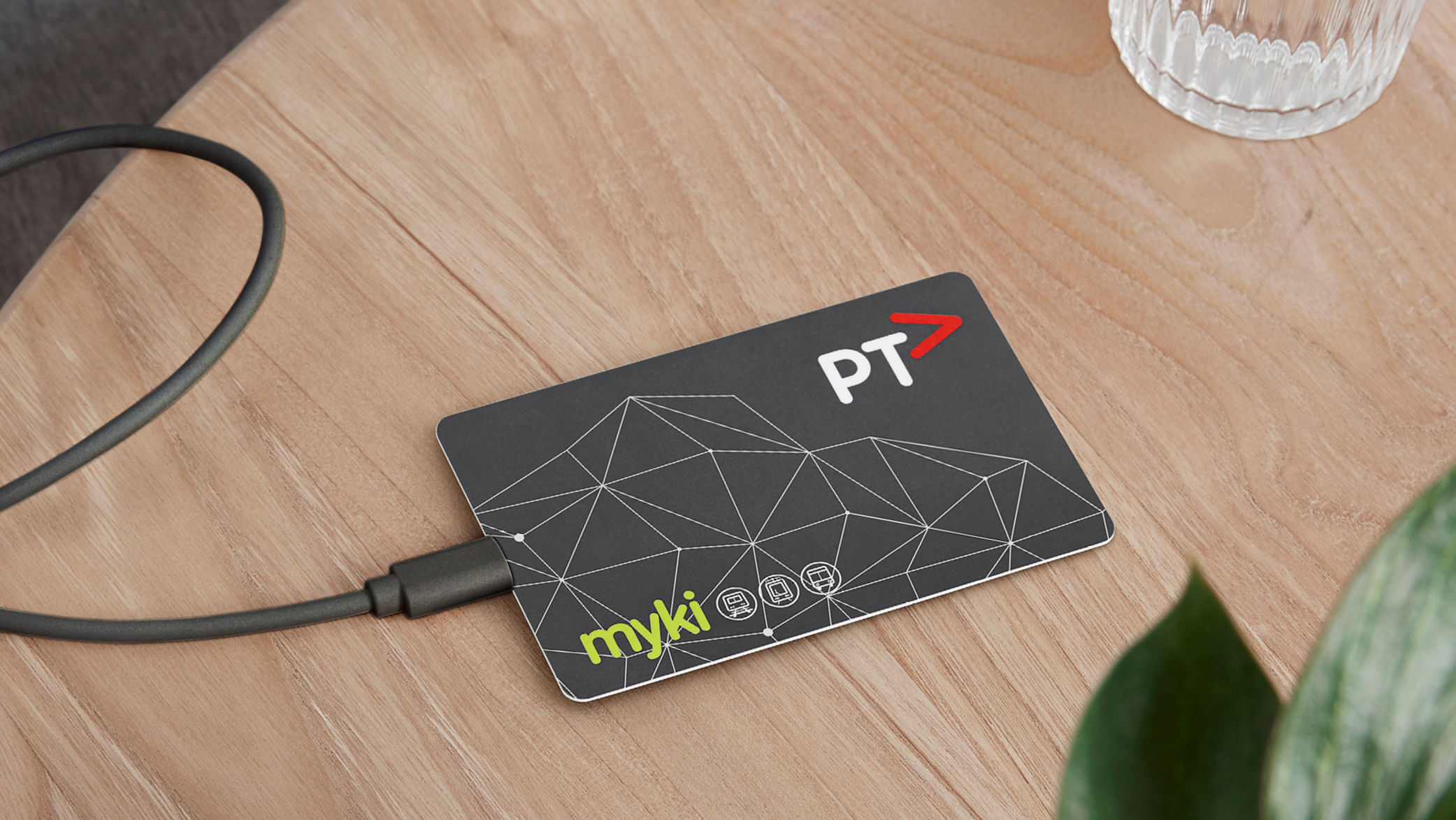 myki on table